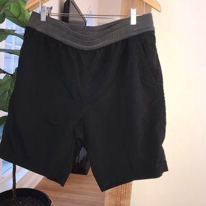 The North Face Black drawstring Shorts